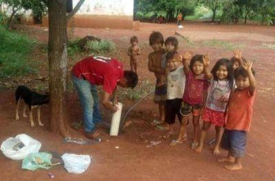 Acciones sustentables permitieron abastecimiento de agua a comunidad Yryapú