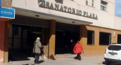 Crítica situación en Sanatorio Plaza por el atraso en los pagos de PAMI