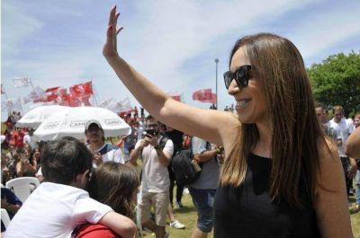 María Eugenia Vidal empezó a moverse por la provincia de Buenos Aires, pero evita las definiciones políticas