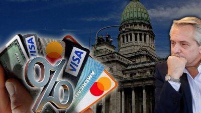 Qué dice el proyecto oficial para limitar las tasas de interés de las tarjetas de crédito