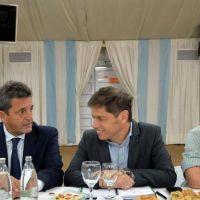 Kicillof consiguió el apoyo de Massa y Máximo para reclamar por fondos federales