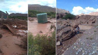 Agua Potable trabaja intensamente en El Perchel tras el temporal en la zona