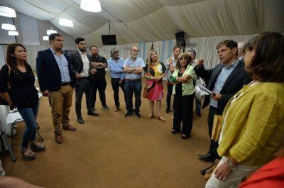 Kicillof, Máximo, Massa, los diputados nacionales y la necesidad de resaltar la identidad bonaerense