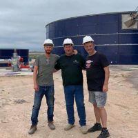 Cellillo pidió al gobierno que acompañe el fortalecimiento de planta de biogas alvearense