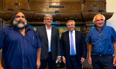 Una interna frustró la foto de Alberto Fernández con las tres centrales sindicales