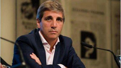 Volvió 'Toto' Caputo, acusó al FMI de agravar la crisis en 2018 y elogió a Georgieva