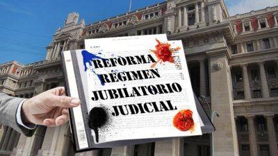 El oficialismo apura debate en el Congreso del polémico proyecto de jubilaciones de jueces