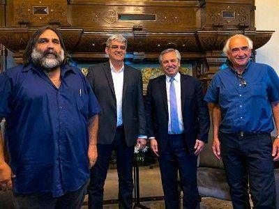 """Alberto Fernández, """"invitado de honor"""" para la próxima cumbre del sindicalismo continental"""