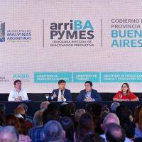 Axel Kicillof presentó el programa ArriBA PyMEs a empresarios de zona norte
