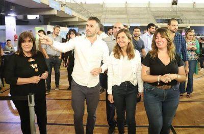 Achával, Raverta y García participaron de la entrega de tarjetas AlimentAR en Pilar