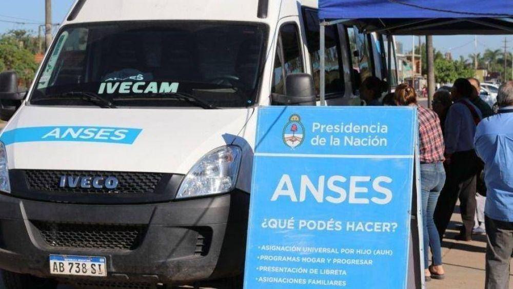 Vanoli y el móvil de la Anses llegan este viernes a Miramar