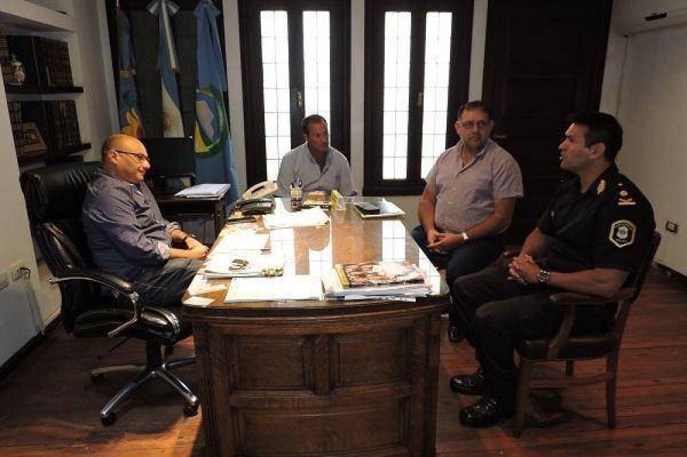 Balcarce: El Intendente Reino se reunió con el nuevo titular de la Policía Local