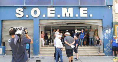 Trabajo actuó en el conflicto del SOEME y propuso un tridente de interventores
