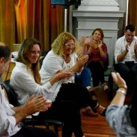 Agustina Vila encabezó el primer encuentro con autoridades de la Dirección de Escuelas