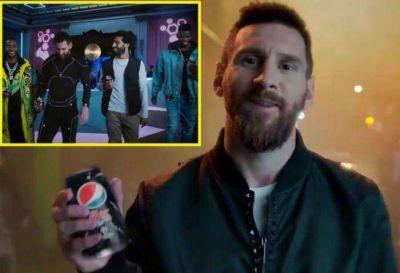 Pepsi lanzó su nueva campaña con Lionel Messi