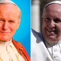 Hoy hace 19 años San Juan Pablo II creó cardenal al ahora Papa Francisco