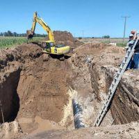 Avanza el Sistema Acueducto Oeste que beneficiará a más de 45 mil vecinos