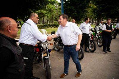 El Ejecutivo oficializó el traspaso de Transporte a Seguridad