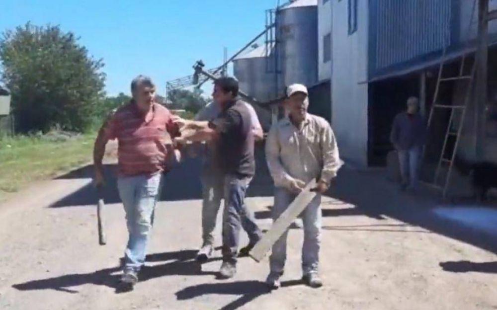 "Inspectores del Ministerio de Agricultura fueron echados a palazos de un molino que opera ""en negro"""