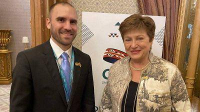 Avances para un nuevo acuerdo: gestos y señales que dejó la cumbre Guzmán - Georgieva