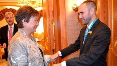 Martín Guzmán y Kristalina Georgieva acordaron que el FMI revise la economía argentina