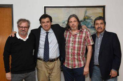 La FEDUN se reunió con Moroni por la situación salarial de los docentes