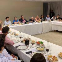 El líder de Luz y Fuerza de la Patagonia participó de un encuentro político y gremial en Buenos Aires