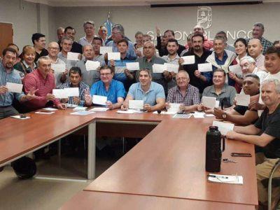 Elecciones en el PJ: Honcheruk se reunió con representantes de las 62 organizaciones