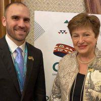 Avances para un nuevo acuerdo: gestos y señales en la cumbre entre Guzmán y Georgieva
