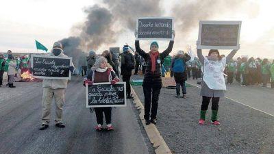 Los docentes de Chubut no inician las clases y van a un paro de 72 horas