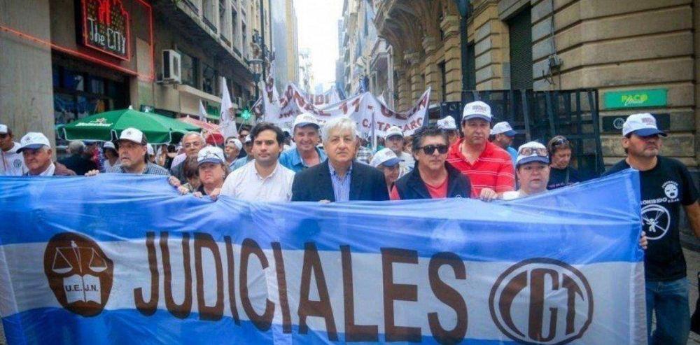 Jubilaciones de privilegio: Paro y marcha de los Judiciales contra el proyecto del Gobierno