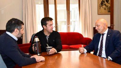 Rojas mantuvo una reunión con el juez federal Bernardo Bibel
