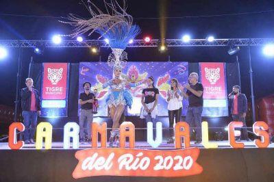 """Julio Zamora en los Carnavales del Río 2020: """"Queremos un Tigre diverso, de respeto mutuo, abierto a toda la comunidad"""""""