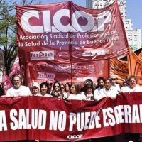 Médicos bonaerenses le exigen a Kicillof que convoque urgente a paritarias