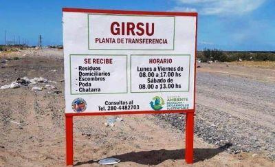 El Municipio saneó el predio de la planta Girsu y trabajará en generar compost con restos de poda