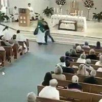 Otro sacerdote agredido y golpeado en plena celebración eucarística