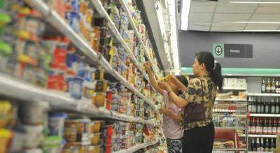 Las ventas en los supermercados bajaron 9,7% a lo largo de 2019