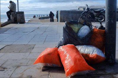 Cuestionan a la 9 de Julio por la basura en las playas