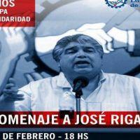 Homenaje a José Rigane