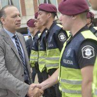 Aunque admitió una crisis de seguridad, Berni manda un inédito refuerzo policial para el Enduro de Gesell