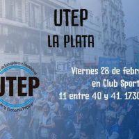 Este viernes lanzan la UTEP La Plata en el Club Sporting