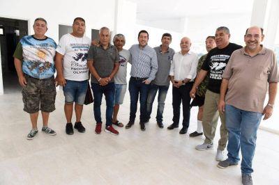 Se construye un espacio para la memoria de los Ex Combatientes de Malvinas