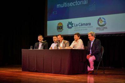 Ariel Sujarchuk y Augusto Costa encabezaron la Primera Ronda de Negocios 2020 organizada por la Municipalidad de Escobar