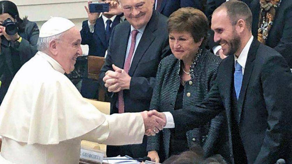 La reunión entre Georgieva y el Papa Francisco y el camino sinuoso del acuerdo con Argentina