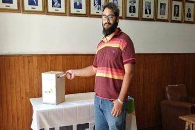 Lautaro Carneglia, electo delegado de la UTTA en el Jockey Club de Venado Tuerto