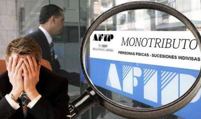 La AFIP no extenderá la suspensión de la exclusión de oficio a los monotributistas