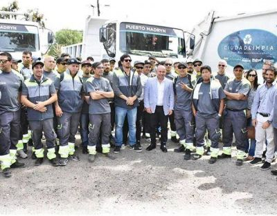 Más de 100 empleados para Higiene Urbana