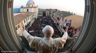 Un día como hoy hace 7 años Benedicto XVI se despidió como Sumo Pontífice