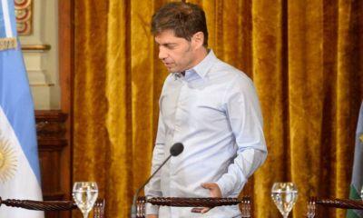 Kicillof a la Legislatura: equilibrio entre herencia V y primeros pasos