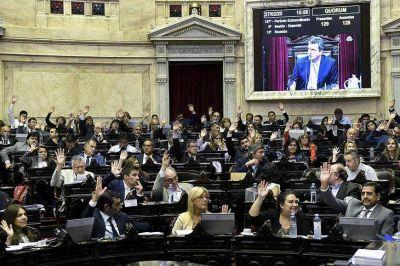 Un Congreso atravesado por las primeras tensiones espera al presidente